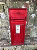 Image for Victorian Wall Post Box in Fisher Street, West Sussex, UK