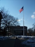 Image for Central Campus Flagpole - University of Michigan