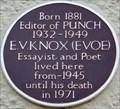 Image for E V Knox - Frognal, Hampstead, London, UK