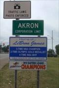 Image for Home of Lebron James - Akron, Ohio