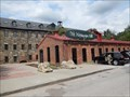 Image for Lion Statues at the Mt. Washington Mill - Baltimore MD