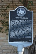 Image for The Mendoza Trail -- Santa Fe Park, McCamey TX