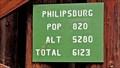 Image for Philipsburg, MT - Population 820