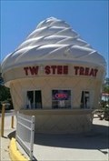 Image for Ginormous Ice Cream - Twistee Treet - Clermont, Florida, USA.