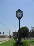 Image for Top of Oklahoma Museum Clock  -  Blackwell, OK