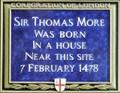Image for Sir Thomas More - Milk Street, London, UK