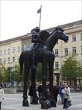 Image for Jezdecká socha markrabete Jošta - Brno, Czech Republic