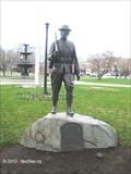 "Image for World War I ""Doughboy"" Statue Memorial - Taunton, MA"