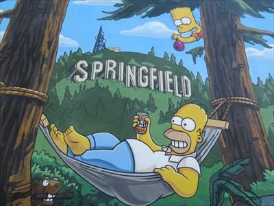 Homer in Hammock, Springfield, Oregon