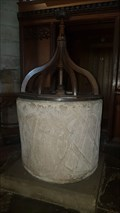 Image for Baptism Font - St Michael & All Angels - Church Broughton, Derbyshire