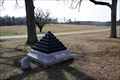 Image for Longstreet's Headquarters Shell Monument  ~ Chickamauga  National Battlefield
