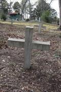 Image for Deceased Negro Slave Homemade Tombstones -- Huntsville TX