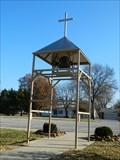 Image for St. Joseph Church Sidewalk Bell Tower - Arma, Ks.