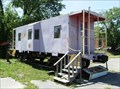 Image for Purple L&N Caboose - Middlesboro, KY