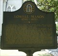 Image for Lowell Mason (1792-1872) - GHM 025-36 - Savannah, GA