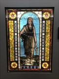 Image for Macy's American Victorian Stained Glass Display - Marshall Fields Building, Chicago, IL - USA