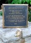 Plaque - Registered Natural Landmark
