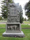 Image for Frank and His Faithful Dog - Butte, Montana