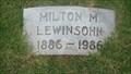 Image for 100 - Milton M. Lewinsohn - Fairlawn Cemetery - OKC, OK