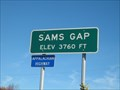 Image for Sams Gap - 3760 Ft - NC/TN border