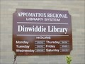 Image for Dinwiddie Branch, Appomattox Regional Library System