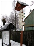 Image for Rozcestnik / Tourist Arrows, Smrzovka nadrazi, CZ
