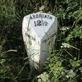 Image for A932 Milepost - Reswallie, Angus.