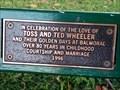 Image for Toss & Ted Wheeler, bench - Mosman, NSW, Australia