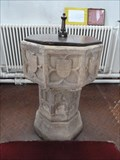 Image for Baptism Font - St Remigius - Long Clawson, Leicestershire