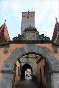 Image for Burgtor / Castle Gate - Rothenburg ob ter Tauber, Bavaria, Germany