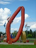 Image for LARGEST -- Ukrainian Sausage in the World - Mundare, Alberta