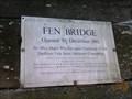 Image for Fen Bridge - 1985 - East Bergholt, Suffolk