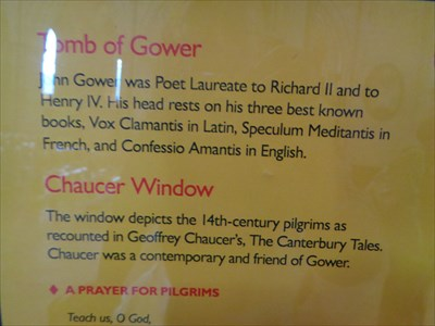 John Gower - First Poet Laureat
