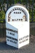 Image for Mile Stone - Skipton Road, Harrogate, North Yorkshire, UK.