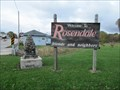 Image for Welcome to Rosendale, friends and neighbors