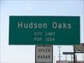 Image for Hudson Oaks, TX - Population 1024