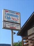 Image for Oyama Community Hall - Oyama, BC