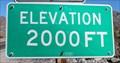Image for Highway 190 - Furnace Creek CA - 2000'
