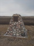 Image for Cairn, Grassmere School No 35, Stonewall, Manitoba, Canada