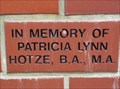 Image for In Memory of Patricia - Ocala, Florida