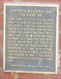 Image for Historic Building 1900 - 126 First St. - Pleasant Hill, Mo.
