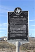 Image for FIRST -- European to Discover Castle Gap, US 67 E of McCamey TX
