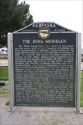 Image for The 100th Meridian -- Cozad NE
