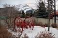 Image for Antique Fire Hose Cart - Banff, Alberta