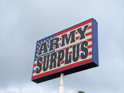 Glenn's Army Surplus is easy to find We are located a few blocks South of downtown Colorado Springs, CO, a few miles from the main entrance of Fort Carson Army Base and across town from Shriever and Peterson Air Force Bases and the United States Air Force Academy (2 blocks North of I .