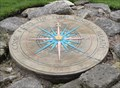 Image for City Walls Compass Rose – York, UK
