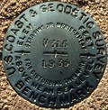 Image for U.S. Coast & Geodetic Survey V316 Benchmark - Corona, CA