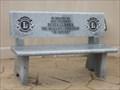 Image for Lions Bench - La Piedad Cemetery - McAllen TX