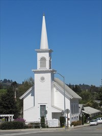 Congregational Church of Soquel, From Across the Street, Soquel, CA
