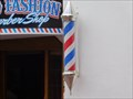 Image for Old Fashion Barber Shop Pole - Ensenada, BC
